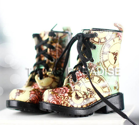 1/3 SD10/13/16  BJD/DD red / black boots  Shoes  7.5*2.8CM Ankle Boots for girl<br><br>Aliexpress