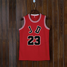 Adsmoney Round Neck Red Blank Basketball jersey Team Name Logo Custom Usa star Throwback Sleeveless Basketball Uniforms DIY(China)