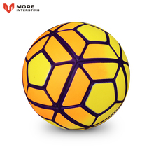 Hot 2017 Size 5 Size 4 Seamless PU Football Ball Anti-slip Granules Soccer Ball High Quality For Match Gifts