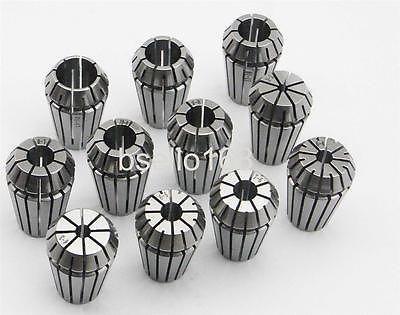 New set 11pcs ER20(3-13mm)Precision ER20 collet for CNC ER20 Toolholder<br>