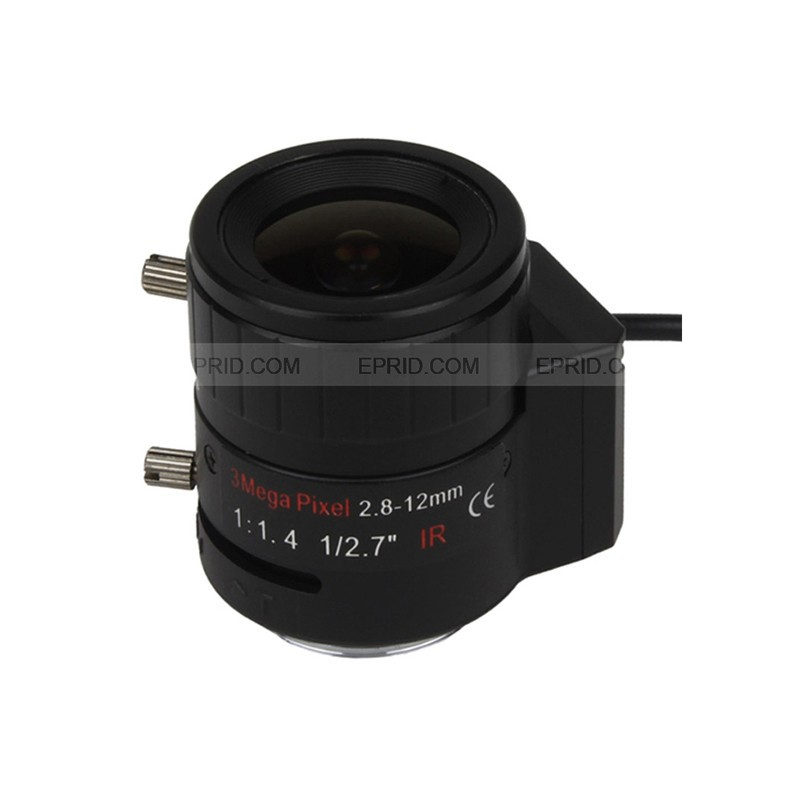1/2.7 3MP CS Mount F1.4 2.8-12mm CCTV Lens Manual Zoom DC-IRIS<br><br>Aliexpress
