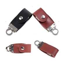 Leather Memoria USB 3.0 Usb Flash Drive 512GB Key Chain Memory Stick Flash Pen Drive 8GB 16GB 32GB 64GB Pendrive 1TB 2TB Gift(China)