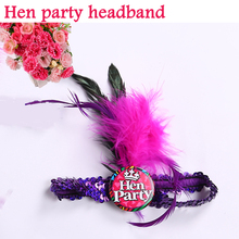 Wedding invitations bohemian style headband hen party decorations of even&party supplies in bridal party fit women dress