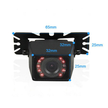 170 Degree HD CCD Vehicle Backup Camera  infrared night vision waterproof car reversing camera camera Butterfly bracket