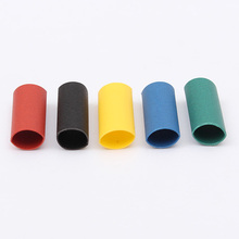 500PCS Insulated Sleeve Wrap 2:1 Heat Shrink Tube Tubing 5 Color 3mm Wire Car Electrical Cable Tools Kits