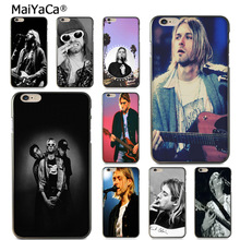 Buy MaiYaCa Kurt Cobain Pattern Rubber tpu Soft Phone Accessories Cover Case Apple iPhone 8 7 6 6S Plus X 5 5S SE 5C case Cover for $1.47 in AliExpress store