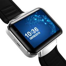 Android4.4 OS DM98 Video Call 2.2inch 4G ROM MTK6572 Dual Core SIM 2G 3G WIFI Smart Watch 900mAH for Iphone/HUAWEI/Xiaomi/LG/HTC