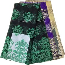 African Lace Fabric Wedding Decoration Christmas Decorations for Home French Nigerian Fabrics Costura Dentelle Telas D416080304