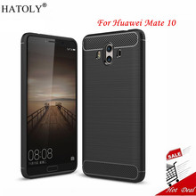 Huawei Mate 10 Case Mate 10 Cover Soft Rubber Case For Huawei Mate 10 Cover For Huawei Mate 10 Shockproof Fundas HATOLY >(China)