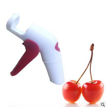 Nordic Cherries Creative Kitchen Gadgets Tools Pitter Cherry Seed Fast Enucleate Keep Complete Creative Tools(China)