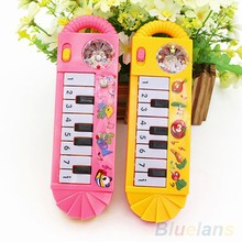 2017 New Style Baby Infant Toddler Intelligence Developmental Toys Kids Musical Piano Funny Toy(China)