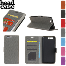 Head case For Huawei honor 9 flip cover leather back phone capas hard original MOFi Huawei honor9 case accessories 5.15 weaving(China)