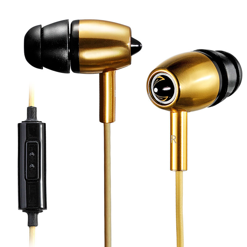 Super Bass Headphone 3.5mm Aluminum Alloy In-ear For Mp3 Mp4 Fiio Players/Mobile phones<br><br>Aliexpress