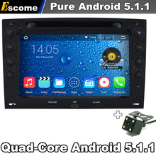 Pure Android 5.1 Car DVD Player For Renault Megane 2003 2004 2005 2006 2007 2008 2009 2010 with WiFi HD Screen GPS Navigation(China)