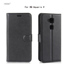 Buy HUDOSSEN BQ Aquaris V Case Luxury PU Leather Back Cover Coque BQ Aquaris V Case Flip Protective Phone Bags Skin Para for $3.42 in AliExpress store