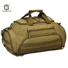Protector Plus Military Travel Bag 35L Large Capacity Luggage Travel Duffle Bags Multi-function Men Travel Bags Backpack Y505(China)