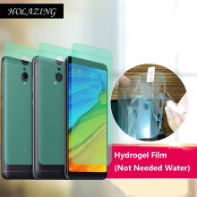 "Buy HOLAZING New Required Water Hydrogel Film 4D Full Coverage Screen Protector Xiaomi Redmi 5 Plus 5.9"" AUTO Fixed Skin for $1.50 in AliExpress store"