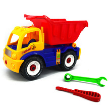 Chanycore 1pcs Mini CarToys removable Engineering vehicle  Educational excavator Toys Kids's Toys random delivery 5199