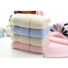 Hot Sell Soft and comfortable butterfly cotton towel household washcloth untwisted yarn cotton child towel  FG