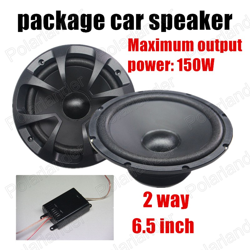 free shipping 6.5 inch 2 way 2x150W car package speaker car audio stereo speaker for all cars hot sale<br><br>Aliexpress