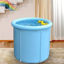 1 piece New Pattern 80*80 cm Inflatable Bath Tub Adults Thickening Solid SPA Tub Bath Bucket TRQ516(China)