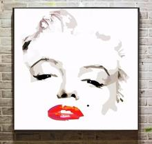 Mouse over image to zoom Details about Hot sale Canvas Oil painting Design painting POP art Marilyn Monroe for decor