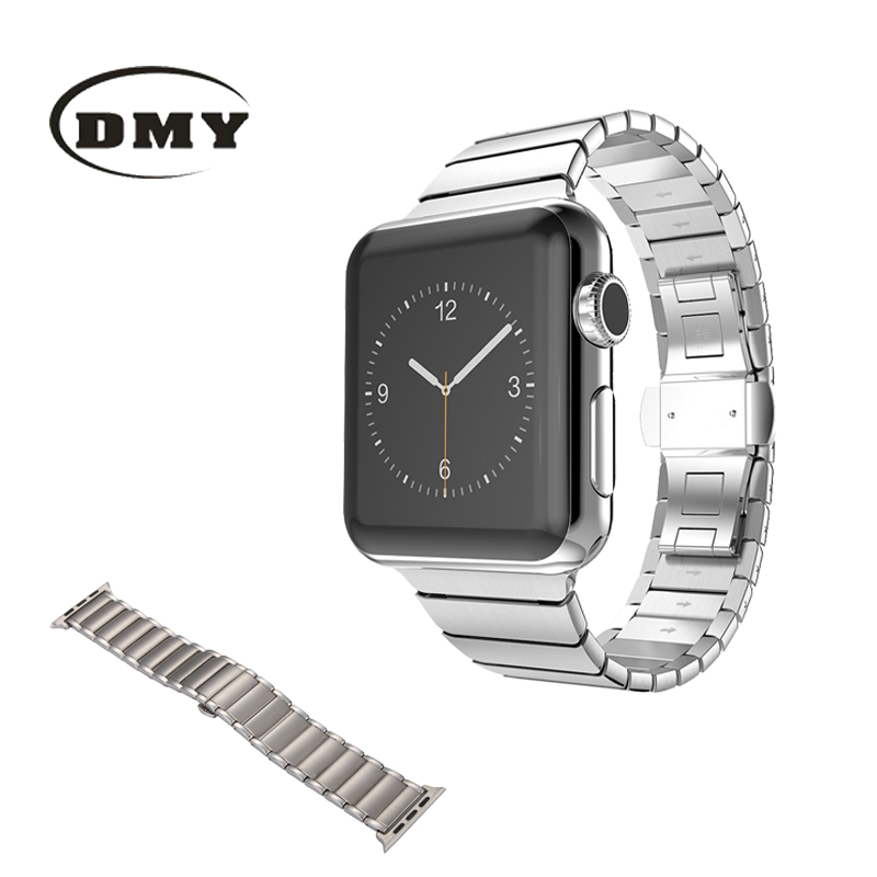 DMY Size 38mm/42mm and 316 stainless steel buckle watchband watch band watch strap Butterfly Buckle wristband<br><br>Aliexpress