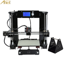 2018 New Anet Auto A6 A8 Normal A8/A6 impresora 3D Black Desktop 3d Printer Reprap i3 3D Printer Kit DIYWith Free 10M filament(China)