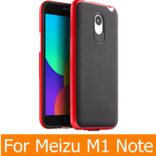 Meizu M1 Note Case Original iPaky Brand Silicone PC Hybrid Protective Cover for Meizu M1 Note Case Cover Fundas M1 Note shell