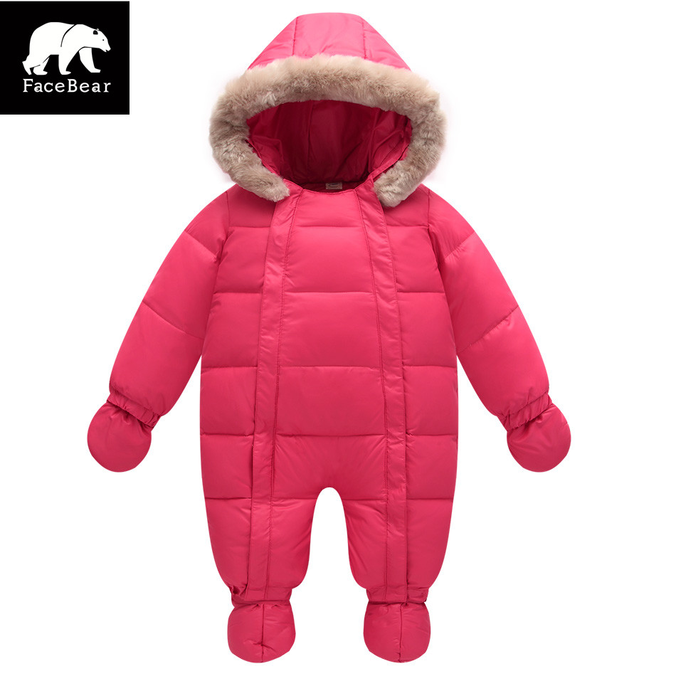 Orangemom Winter 2017 baby jumpsuits and warm coats 2 colours baby snow wear , duck down coats &amp; outerwear Kids winter jacket<br><br>Aliexpress