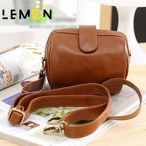2017 New Women Messenger Bags Vintage Small Bag PU Leather Handbags Coin Purse Fashion Women Bags Ladies Camera Bags Lemon A094<br><br>Aliexpress