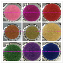 60 Gram Mixed Color Caviar Glass Mini Micro Beads 0.6-0.8mm Nail Art Garment design Strapbook Kids Diy(China)