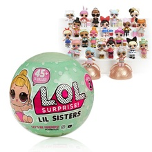 lol original 7cm LOL Surprise Doll Magic Funny Removable Egg Ball Doll Toy Educational Novelty Kids Unpacking Surprise Dolls
