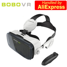 Bobovr Z4 / Z4 mini Google VR Carboard Headset 3D Glasses Virtual Reality Goggles for 4.7-6.2 inch Android iPhone(China)