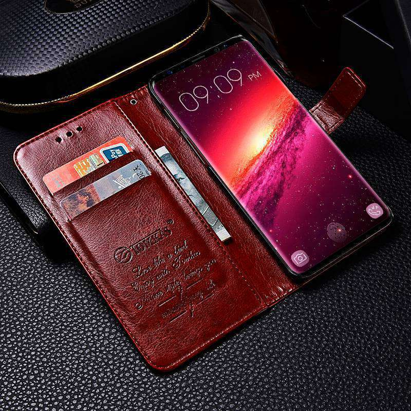 S9 S9+ Luxury Flip Leather Case For Samsung Galaxy S9 S9 Plus Wallet Card Pocket Coque Cover For Samsung S9 S9 Plus Case Fundas (11)