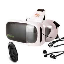 RITECH III Plus VR 360 Viewing Immersive Virtual Reality 3D Glasses FOV 75 Degree Google Cardboard for 4.7- 6 inch Phone