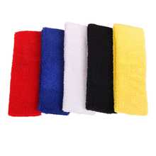 Outdoor Sports Ball Games Tennis Sweatbands Forehead Head Hair Sweat Band Elastic Terry Cloth Cotton GYM Yoga Fitness HeadBand(China)