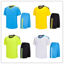 ``Hot selling football training uniforms sport uniforms yellow jogging custom blank 2016 2017 soccer jersey shirt LD-5016(China)