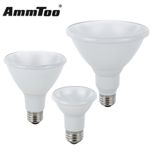 Dimmable E26 Led Lamp Par20 Par30 Par38 7W 13W 18W Led Light Bulb 120V Umbrella Lampada Led Spotlight Energy Saving(China)