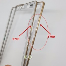 BINYEAE 1PCS Border Front Bezel Housing Frame For Samsung Galaxy Tab S 8.4 SM-T705 T705C T700 Wifi 3G Gold(China)