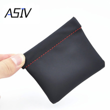 ASIV High Quality Earphone Bag Senfer PU Leather Earphone Case Headset Carrying Pouch Store Headphone Package Headset Accessorie