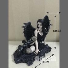 Home Furnishing Decoration Black Angel Ornaments Valentine's Day Christmas And Birthday Gift