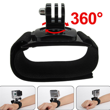 Gopro Accessories 360 Degree Rotation Hand Wrist Strap Band Mount Arm Belt for Gopro Hero 3 3+ 4 Xiaomi Yi xiomi go pro SJ4000