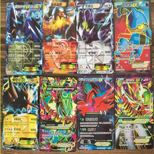 36 pcs/lot Pokeball Cards Mega EX 2017 Last Evolutionary Battle Trading Collection Chinese Version Card Kid Gift Toy