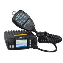DHL Freeship+QYT KT-7900D Quad Band 136-174/220-260/350-390/400-480MHz 25W Mini Mobile FM Radio Transceiver KT7900D Walkie-talki