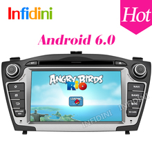 Pure Android 6.0 quad core 2 din car dvd gps radio stereo 2 din dvd for Hyundai iX35 Tucson 2009 2010 2011 2012 2013 2014 2015