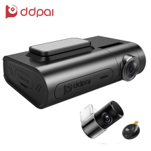 DDPai X2 Pro Dash Cam 1440P Ultra HD Front & Rear Dual Recording Car Camera One Click Wireless snapshot Car DVR Recorder(China)