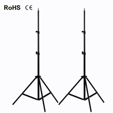 Photo 2*2M Light Stand Tripod With 1/4 Screw Head For Photo Studio Video Flash Umbrellas   Reflector Lighting