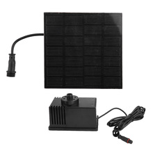 Solar Water Panel Power Fountain Pump Kit Pool Garden Pond Watering Submersible DV7V 1.5W w/ Durable Quality