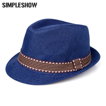 Fashion Style Jazz Cap For Children Cute Kids Beach Summer Hat Straw Cap For Girls Boys Photography Props Unisex Bucket Hat
